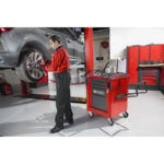 Servante Facom atelier industriel, des outils bien rangés