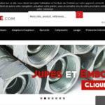 Flexible hydraulique en ligne pour professionnels et particuliers