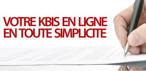 kbis entreprise en ligne