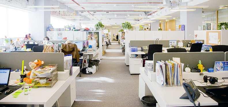 hygiène électromagnétique au bureau de travail