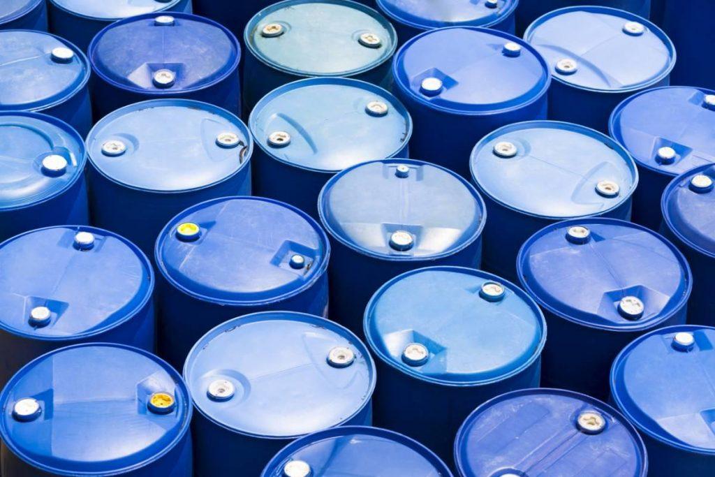 cuves pour stocker les huiles