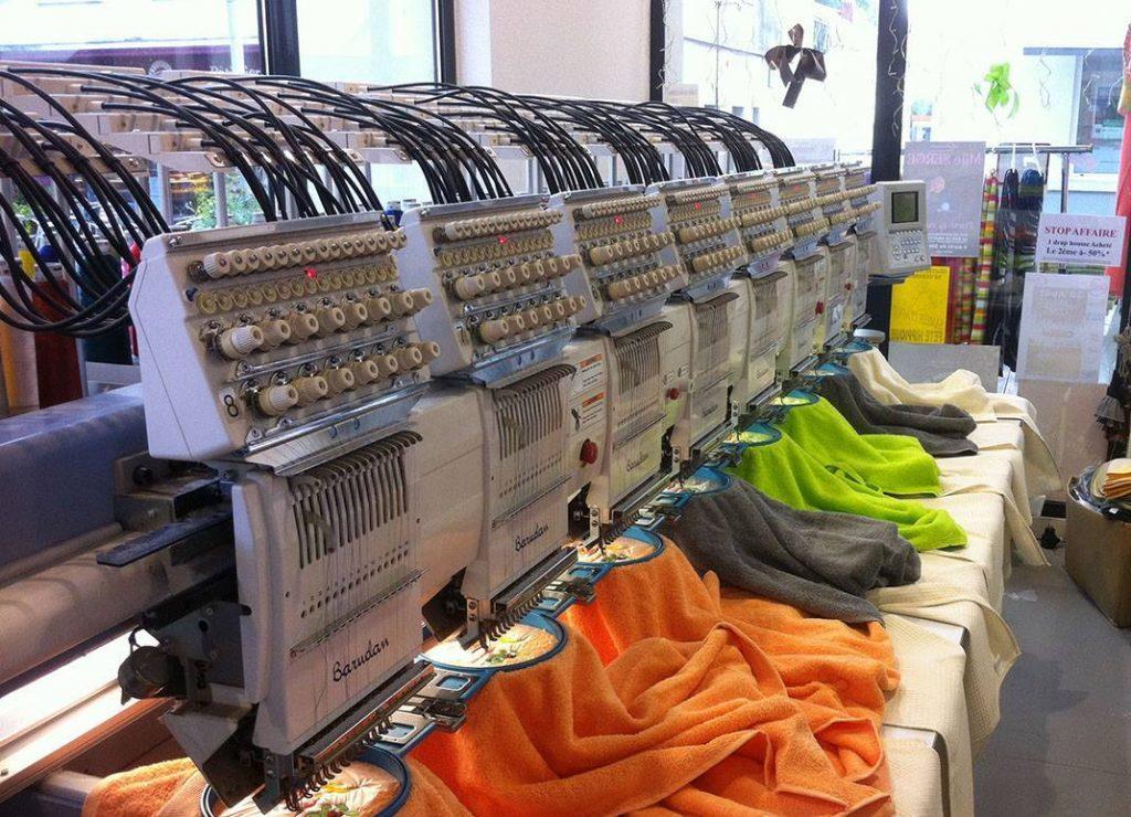 magasin usine broderie dans les Vosges