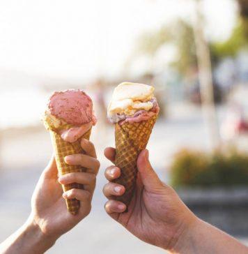 machine pour faire des glaces à l'italienne