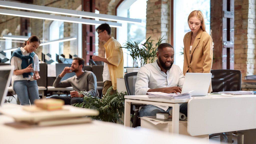 accroissement activité dans les bureaux